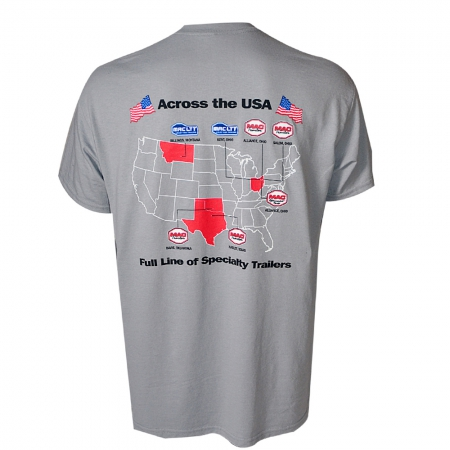 ACROSS THE USA TEE