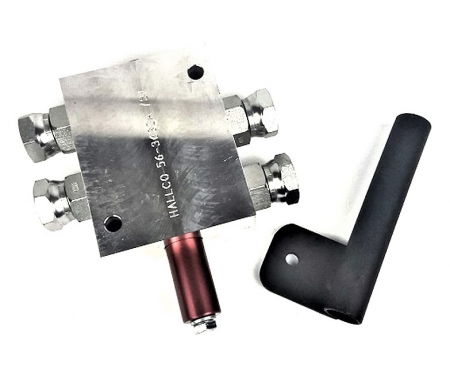 HALLCO INDUSTRIES HYDRAULIC COMPONENTS
