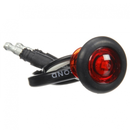 MODEL 33 PENNY LIGHT LED RED KIT INCLUDES GROMMET