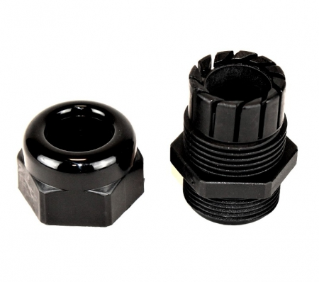 COMPRESSION FITTING, PG21, PLASTIC