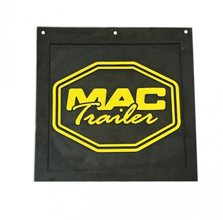 "MUDFLAP 3/8"" X 14"" X 14"" RUBBER (INSPECTION)"