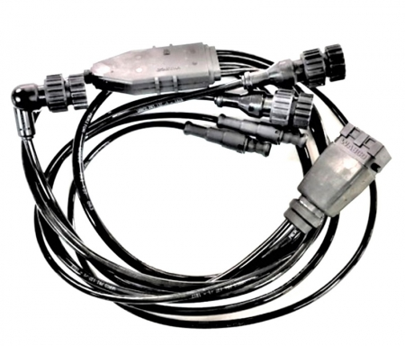 ABS, CONNECTION CABLE FOR ABS RELAY VALVES