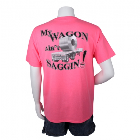 "T-SHIRT ""WAGON"" PINK LARGE"