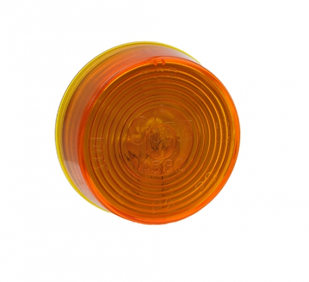 "LAMP, 2"" AMBER CLEARANCE MARKER GROMMET MOUNT"