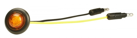 MICRONOVA A DOT CLEARANCE MARKER LIGHT YELLOW 49333-3 WITH GROMMET