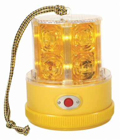PORTABLE WARNING LIGHT, LED BATTERY OPERATED