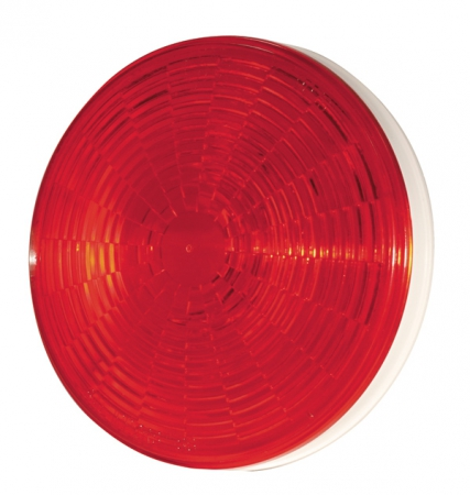 "LAMP LED 4"" RED STT GROMMET (HR KIT)"