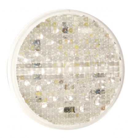 "LAMP, 4"" LED AMBER/CLEAR LENS GROTE G4023 STT"