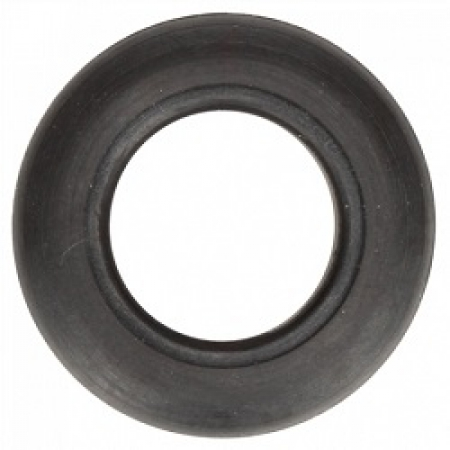 "GROMMET PENNY LIGHT, BLACK RUBBER, FOR 33 SERIES AND 3/4"" LIGHTS"
