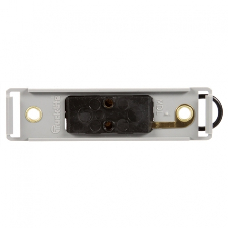 MODEL 19 MOUTING BASE FOR LICENSE LAMP 19 SERIES, GRAY POLYCARBONATE, 2 SCREW BRACKET MOUNT