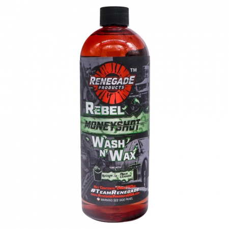 REBEL MONEYSHOT WASH N WAX SOAP 24 OZ