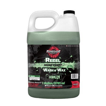 REBEL MONEYSHOT WASH N WAX SOAP 1 GALLON