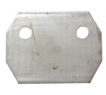 "AIR SPRING MOUNTING PLATE INTRAAX 230T/250T WELD ON 13-1/2"" -17"""